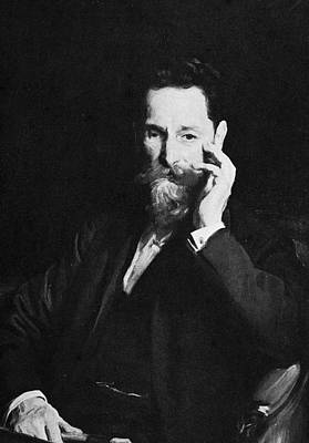 Portrait Of Publisher Joseph Pulitzer Art Print by Hulton Archive