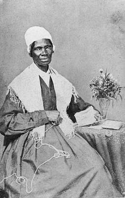 Photograph - Portrait Of Sojourner Truth by Hulton Archive