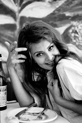 Photograph - Portrait Of Sophia Loren by Alfred Eisenstaedt