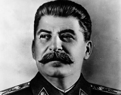 Photograph - Portrait Of Stalin by Keystone