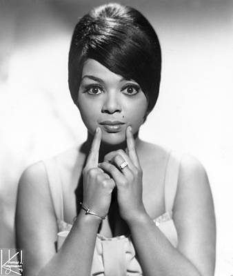Blue Photograph - Portrait Of Tammi Terrell by Michael Ochs Archives