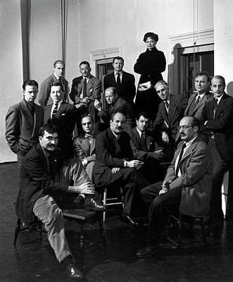 Photograph - Portrait Of The Irascibles by Nina Leen