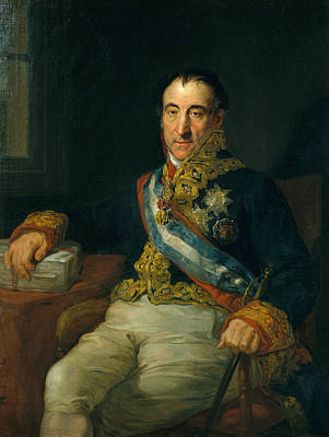 Painting - Portrait Of The Marquis Of Labrador by Vicente Lopez Portana