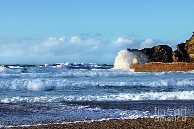 Photograph - Portreath Tide by Terri Waters