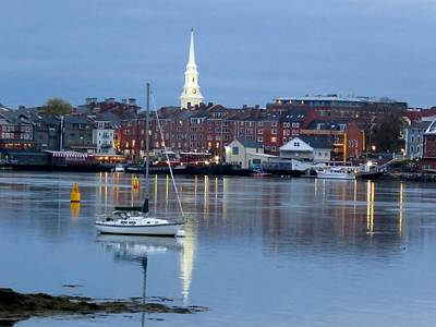 Photograph - Portsmouth Across The Piscataqua River by Keith Stokes