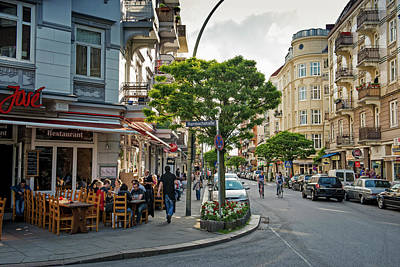 Photograph - Portuguese Quarter In Hamburg by Thomas Winz
