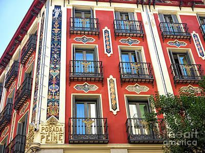 Photograph - Posada Del Peine Madrid by John Rizzuto