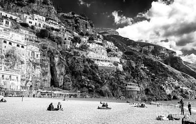Photograph - Positano Spring Beach Day by John Rizzuto