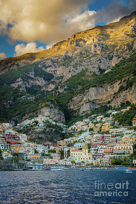 Photograph - Positano Terraces by Inge Johnsson
