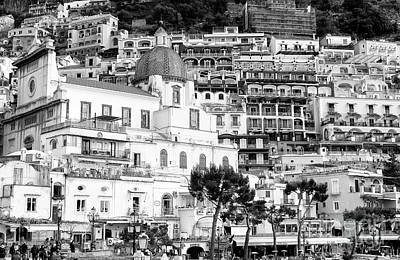 Photograph - Positano Up Close View by John Rizzuto