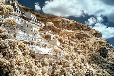 Photograph - Positively Positano Infrared by John Rizzuto