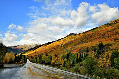 Photograph - Post Storm Along Million Dollar Highway by Ray Mathis