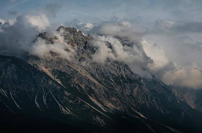 Photograph - Postcards From Dolomites by Jaroslaw Blaminsky