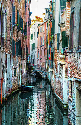 Photograph - Postcards From Venice II by Jaroslaw Blaminsky