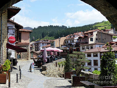 Photograph - Potes Village - Cantabria by Phil Banks