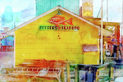Photograph - Potter's Seafood by Don Margulis
