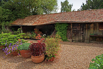 Photograph - Potting Shed In The Old Barn by Gill Billington