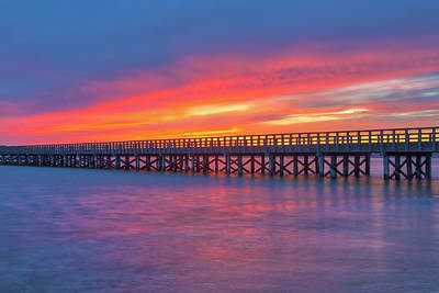 Photograph - Powder Point Bridge by Juergen Roth