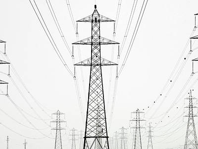 Photograph - Power Lines by George Kavanagh