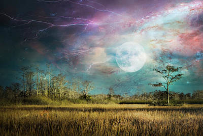 Photograph - Power Of The Night by Debra and Dave Vanderlaan