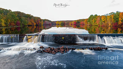 Photograph - Power Of The Shetucket by Michael Hughes