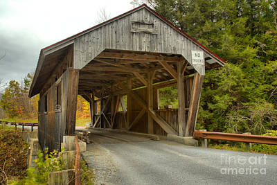 Photograph - Powerhouse Covered Bridge by Adam Jewell