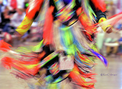 Photograph - Powwow Abstraction #2 by Kae Cheatham