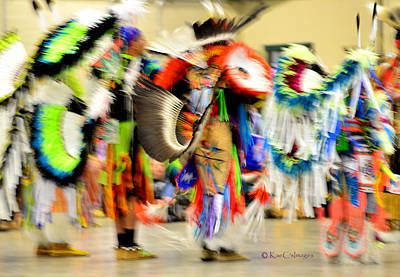Photograph - Powwow Abstraction #4 by Kae Cheatham