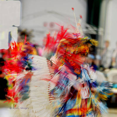 Photograph - Powwow Abstraction #5 by Kae Cheatham