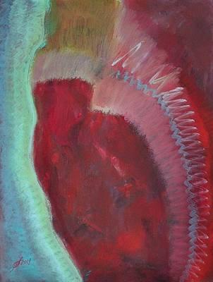 Painting - Powwow Dancer Original Painting by Sol Luckman