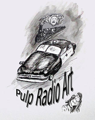 Drawing - Pra Title Page by Clyde J Kell