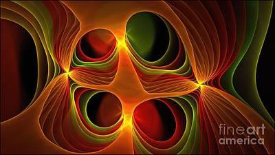 Digital Art - Praetoria Vx by Doug Morgan
