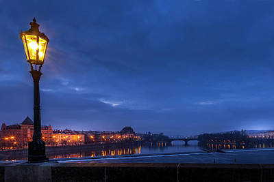 Royalty-Free and Rights-Managed Images - Prague at Dawn by Andrew Soundarajan