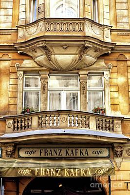 Photograph - Prague Franz Kafka Cafe 2008 by John Rizzuto