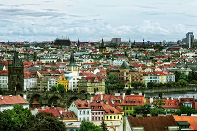 Photograph - Prague From On High by Kay Brewer