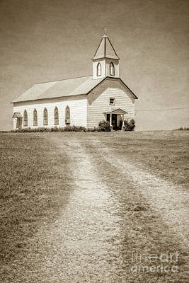 Photograph - Prairie Church by Imagery by Charly