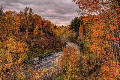 Photograph - Prairie Dells Fall Colors by Dale Kauzlaric