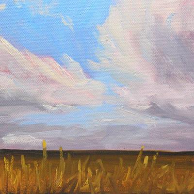 Painting - Prairie Sky by Nancy Merkle