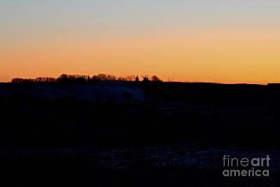 Photograph - Prairie Sunrise by Ann E Robson