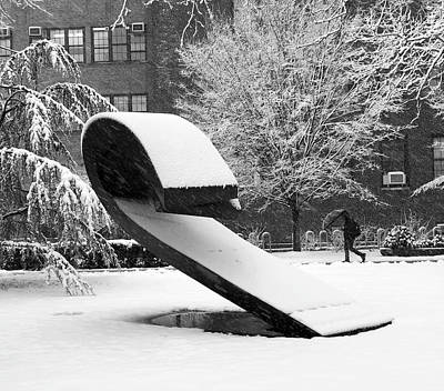 Photograph - Pratt Institute Sculpture Park by Michael Gerbino