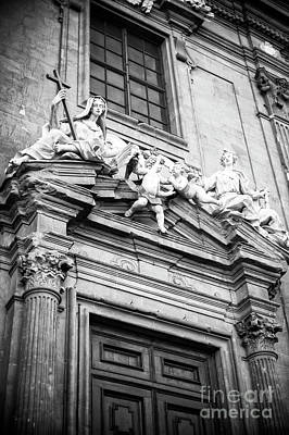 Photograph - Prayer And Humility At The Complesso Di San Firenze by John Rizzuto