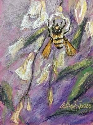 Pastel - Prayer Of The Bee by Esther Jones