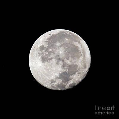 Photograph - Pre-dawn Moon by Kevin McCarthy