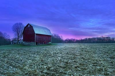 Photograph - Pre-sunrise Glory On The Farm by Dennis Caskey