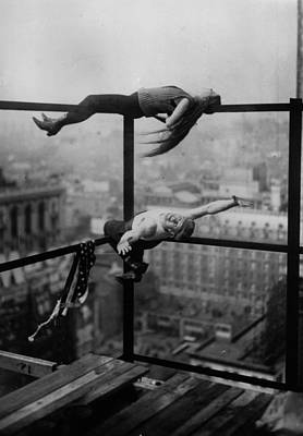 Photograph - Precarious Position by General Photographic Agency