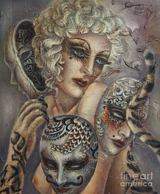 Animal Painting - Prejudice by JULIE Angel