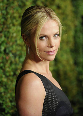 Charlize Wall Art - Photograph - Premiere Of Paramount Pictures And by Jason Merritt
