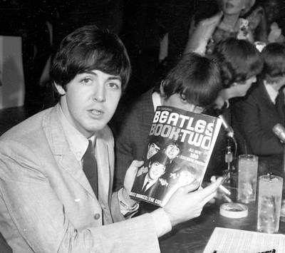 Beatles Photograph - Press Conference At The Cinnamon by Michael Ochs Archives