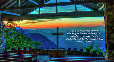 Photograph - Pretty Place John 316 Sunrise Landscape Camp Greenville South Carolina Art by Reid Callaway
