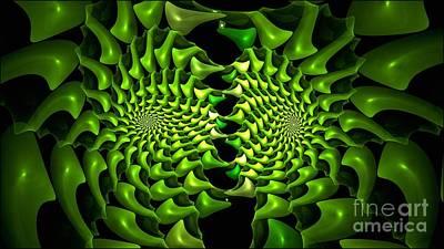 Digital Art - Prickly Pipe Fractus by Doug Morgan